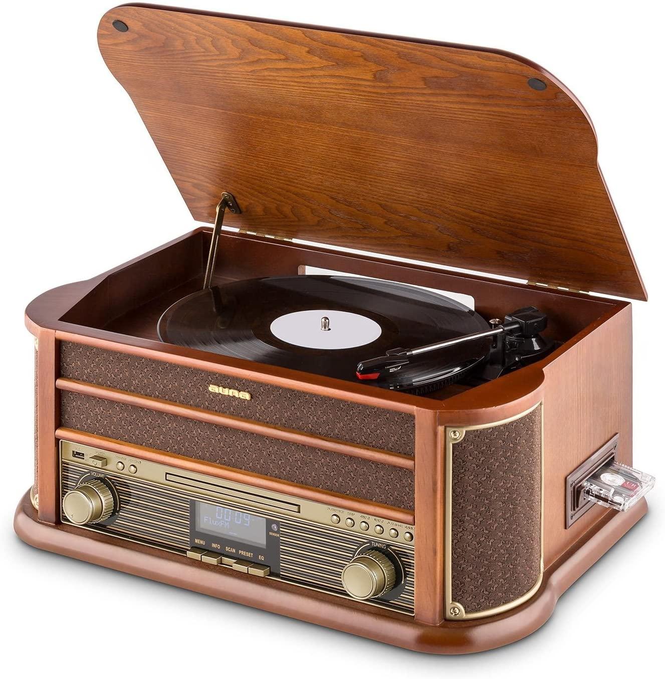 La radio vintage complète : Auna belle époque 1908