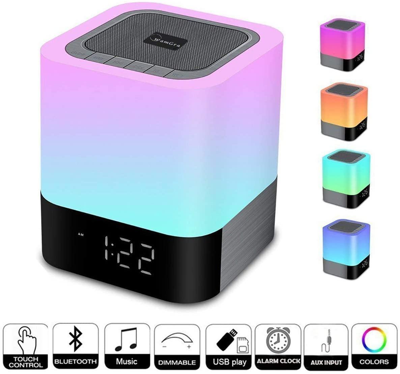 Le radio réveil enfant : WamGra Lampe de Chevet LED