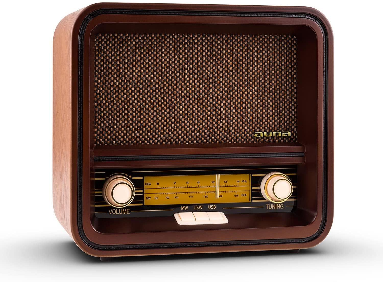 La radio vintage véritable: Auna belle epoque 1901