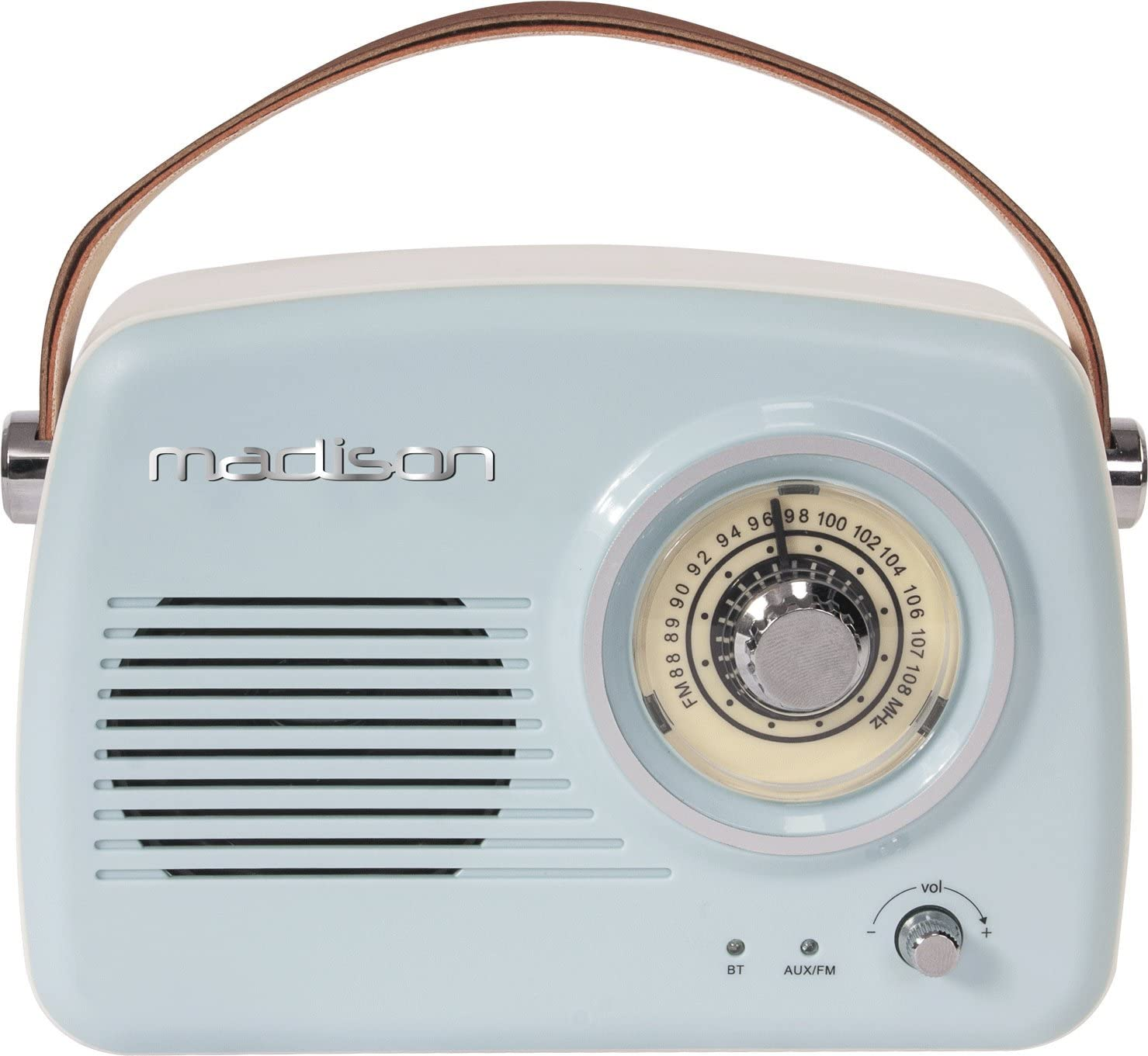 La radio vintage pratique : Freesound VR30 Madison