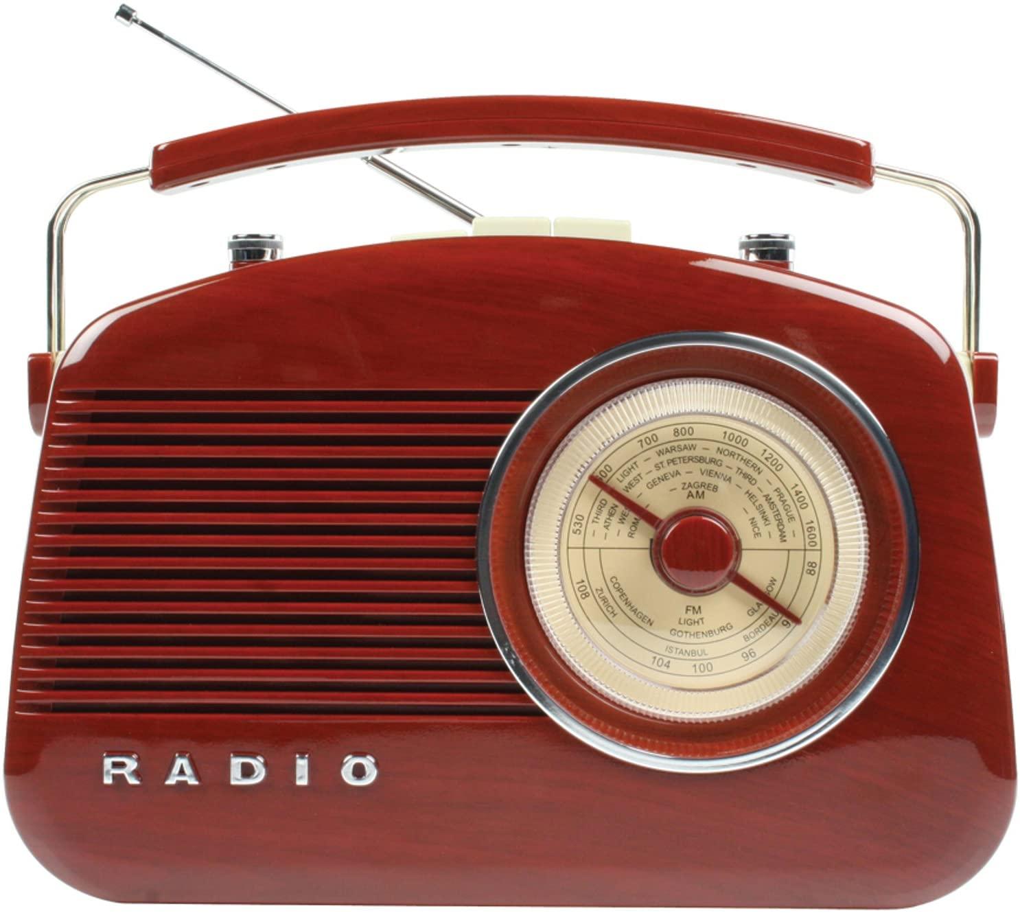 La radio vintage retro: Koning HAV-TR710BR