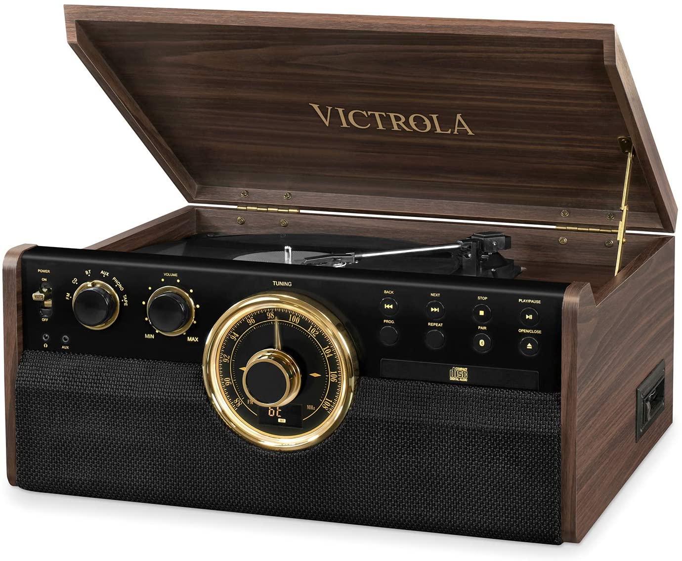 La radio vintage élégante: Victrola Empire 6 en 1